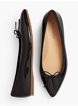 Talbots Poppy Ballet Flats - Patent Leather