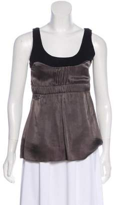Schumacher Sleeveless Wool Top