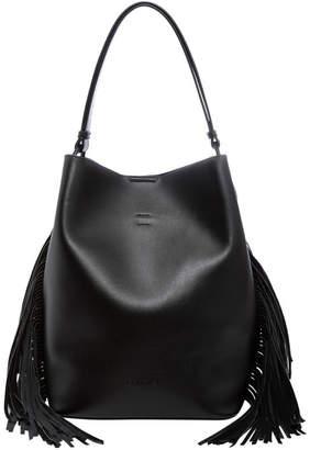 Calvin Klein H8Jjz8Xk_Bsv Fringe Double Handle Tote Bag