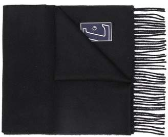 Lanvin classic fringed scarf
