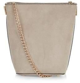 New Look Stone Mini Bucket Bag
