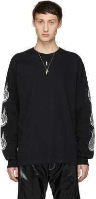 SASQUATCHfabrix. Black Kamisabiru-003 Long Sleeve T-Shirt