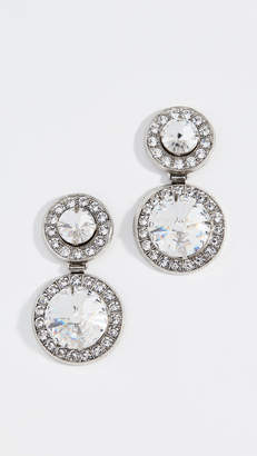 Elizabeth Cole Double Drop Earrings