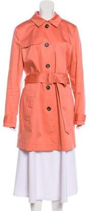 Brooks Brothers Button-Up Trench Coat