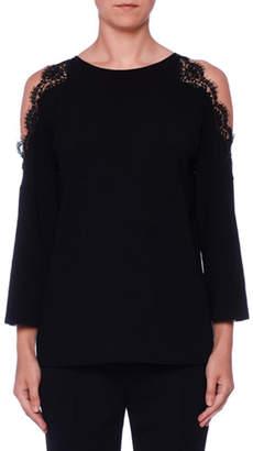 db31b5c722b Stella McCartney Lace Cold-Shoulder Tunic
