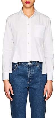 Giorgio Armani Women's Cotton Poplin Blouse - White