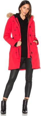 Canada Goose Kensington Parka with Coyote Fur Trim $895 thestylecure.com