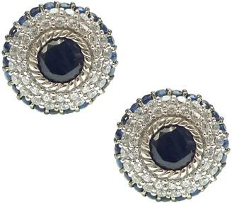 Judith Ripka Sterling Diamonique & Birthstone Earrings