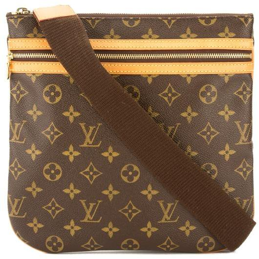 Louis Vuitton Monogram Canvas Pochette Bosphore Shoulder Bag