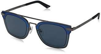 Police Men's Spl348 Square Sunglasses