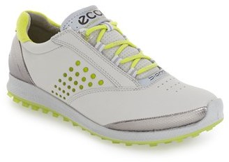 Women's Ecco 'Biom' Hydromax Waterproof Golf Shoe $199.95 thestylecure.com
