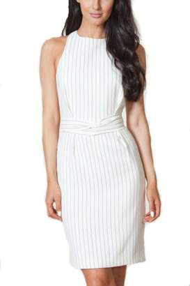 Finders Keepers Pinstripe Twist Dress