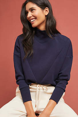 Scotch & Soda Mock Neck Sweatshirt