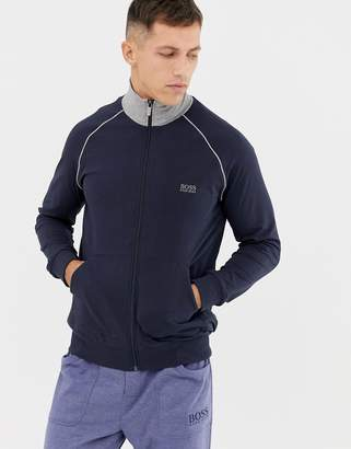 BOSS bodywear zip-thru jacket