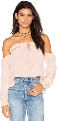 STONE COLD FOX x REVOLVE Nate Blouse $285 thestylecure.com