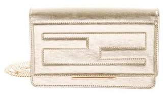 Fendi Metallic Tube Wallet On Chain