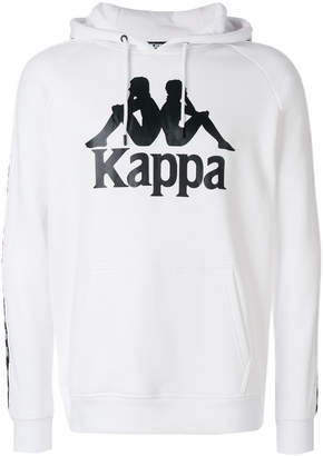 Kappa logo print hooded sweatshirt