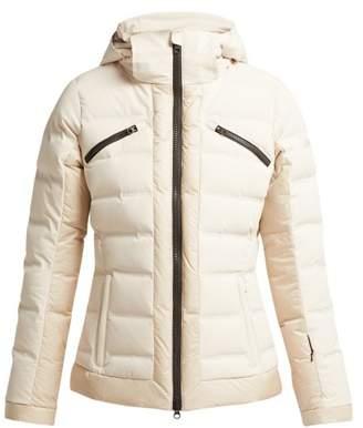 Capranea - Gem Quilted Ski Jacket - Womens - Light Grey