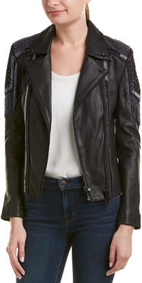 Doma Lady Beaded Leather Jacket
