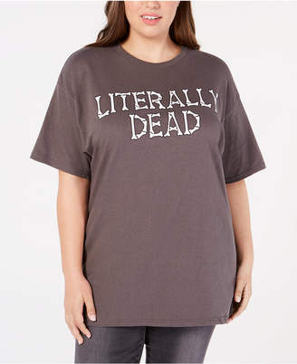 1cae7f4393701 Mighty Fine Plus Size Cotton Literally Dead T-Shirt
