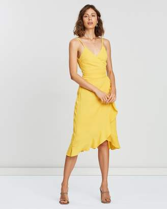Atmos & Here Willow Wrap Dress