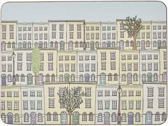 Rosa & Clara Designs - London Townhouses Placemats Set of Four Large