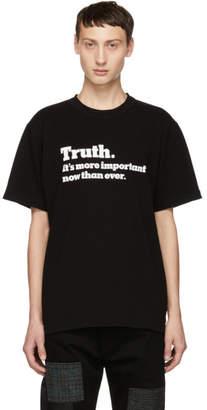 Sacai Black Truth T-Shirt