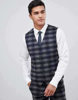 Jack and Jones suit vest in check