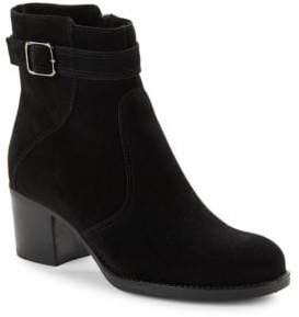La Canadienne Brixton Waterproof Suede Ankle Boots