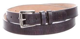 Jimmy Choo Leather Buckle Belt