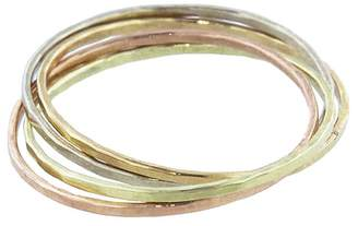 Melissa Joy Manning Interlocking Mixed Metal Rings