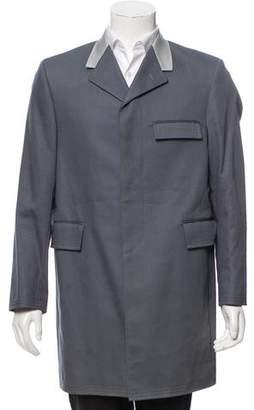 Thom Browne Notch-Lapel Overcoat
