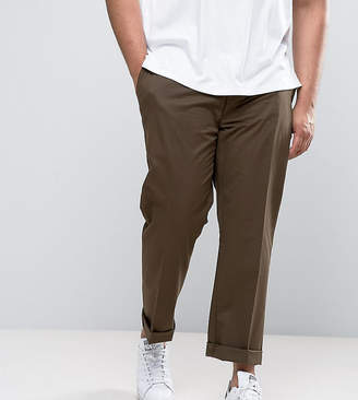 Polo Ralph Lauren Big & Tall Chinos Stretch Twill In Brown