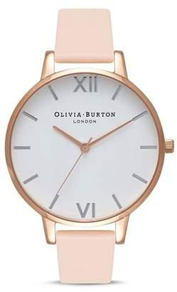 Olivia Burton White Dial Watch, 38mm