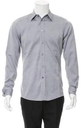 Bottega Veneta Point Collar Button-Up Shirt