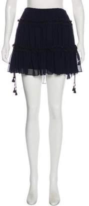 See by Chloe Ruffle-Accented Mini Skirt