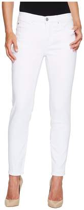 Tribal Five-Pocket Ankle Knit Denim 28 Jeggings in White Women's Jeans