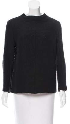 Studio Nicholson Matelassé Three-Quarter Sleeve Top