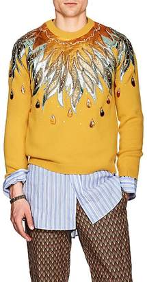 Gucci Men's Embellished Wool Sweater