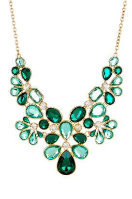 Olivia Welles Makeda Stone Necklace