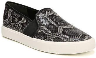 Vince Blair Snake-Print Platform Sneakers