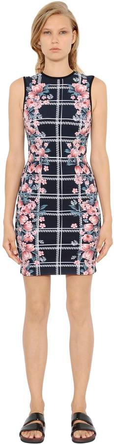 Mother of Pearl Edme Printed Techno Jersey Column Dress