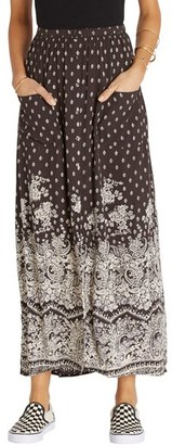 Billabong Honey High Waist Maxi Skirt $49.95 thestylecure.com