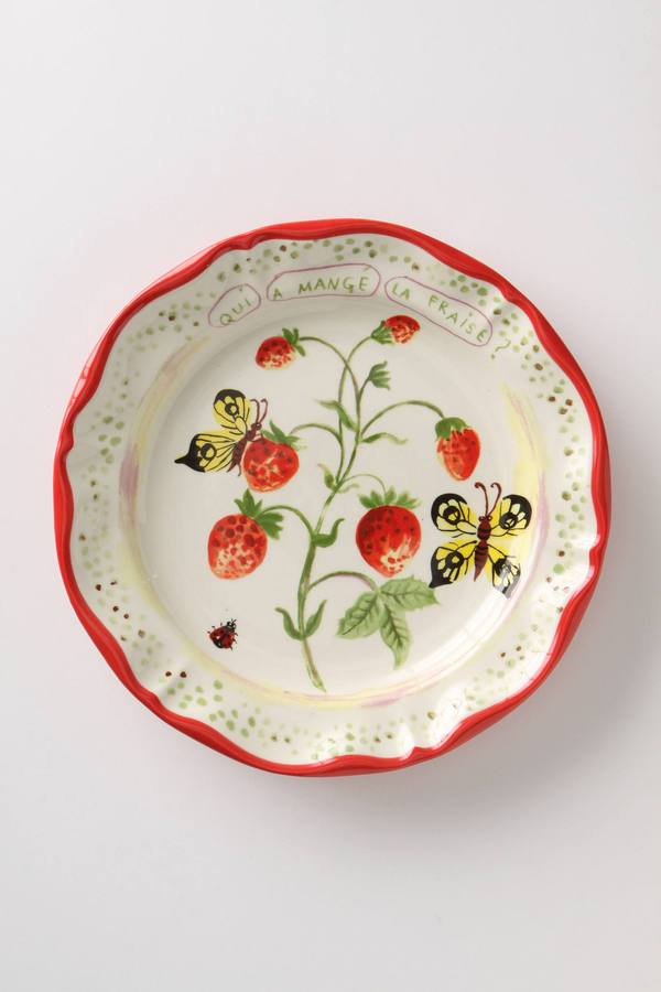 De Vincennes Dinner Plate, Berries