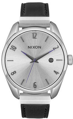 Nixon Bullet Leather Luxe Analog Watch