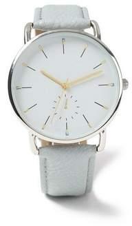 Topman Mens Grey Gray Strap Watch*