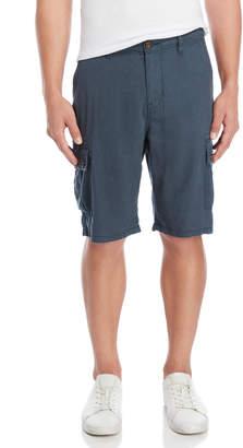 Lucky Brand Linen-Blend Cargo Shorts