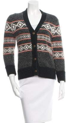 Rag & Bone Patterned Knit Cardigan