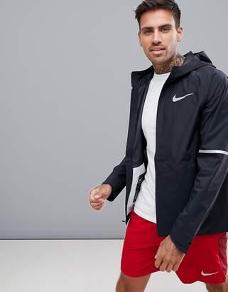 Nike Running Aeroshield Zonal Jacket In Black 857808-010