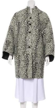 Ralph Rucci Virgin Wool-Blend Coat